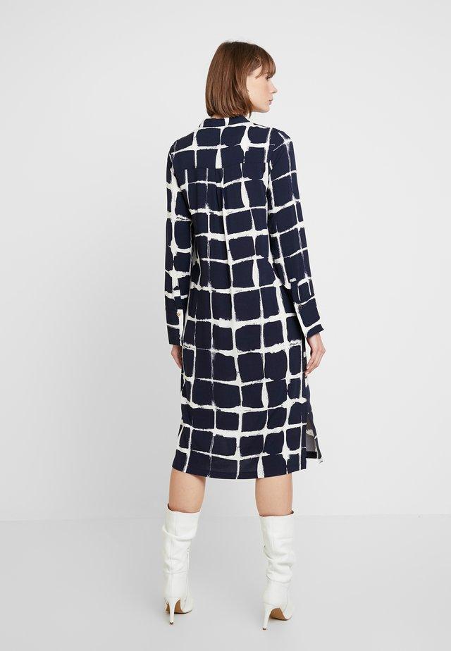 NUAMARANTH DRESS - Shirt dress - navy