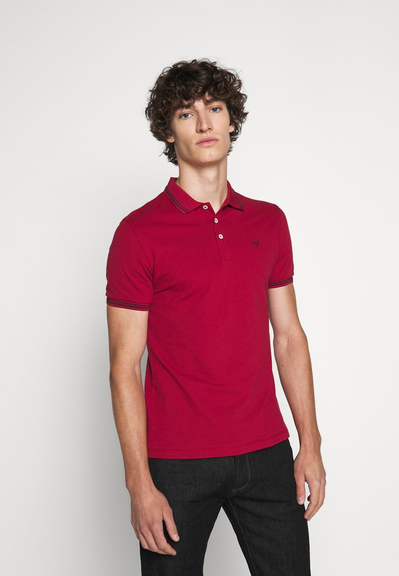 Emporio Armani - Polo shirt - dark red