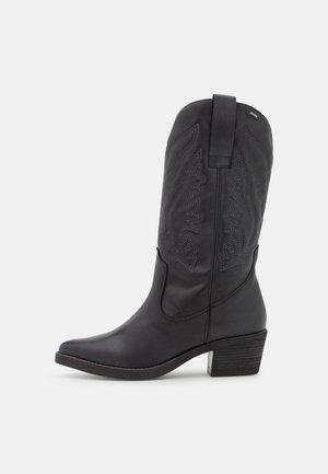 TEO - Cowboy/Biker boots - black