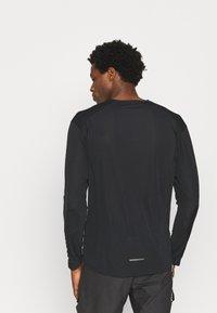 adidas Performance - Terrex TRAIL LONGSL FOUNDATION PRIMEBLUE RUNNING LONG SLEEVE T-SHIRT - Long sleeved top - black - 2