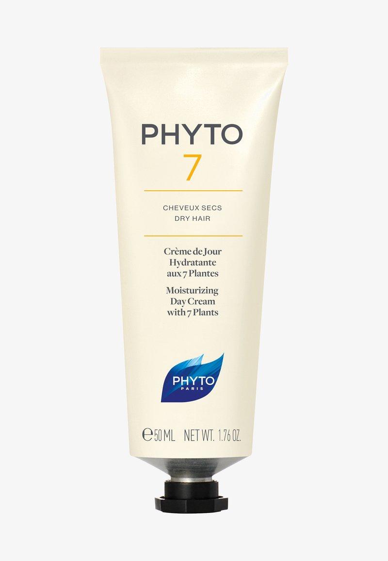 PHYTO - 7 FEUCHTIGKEITSSPENDENDE TAGESCREME - Hair treatment - -