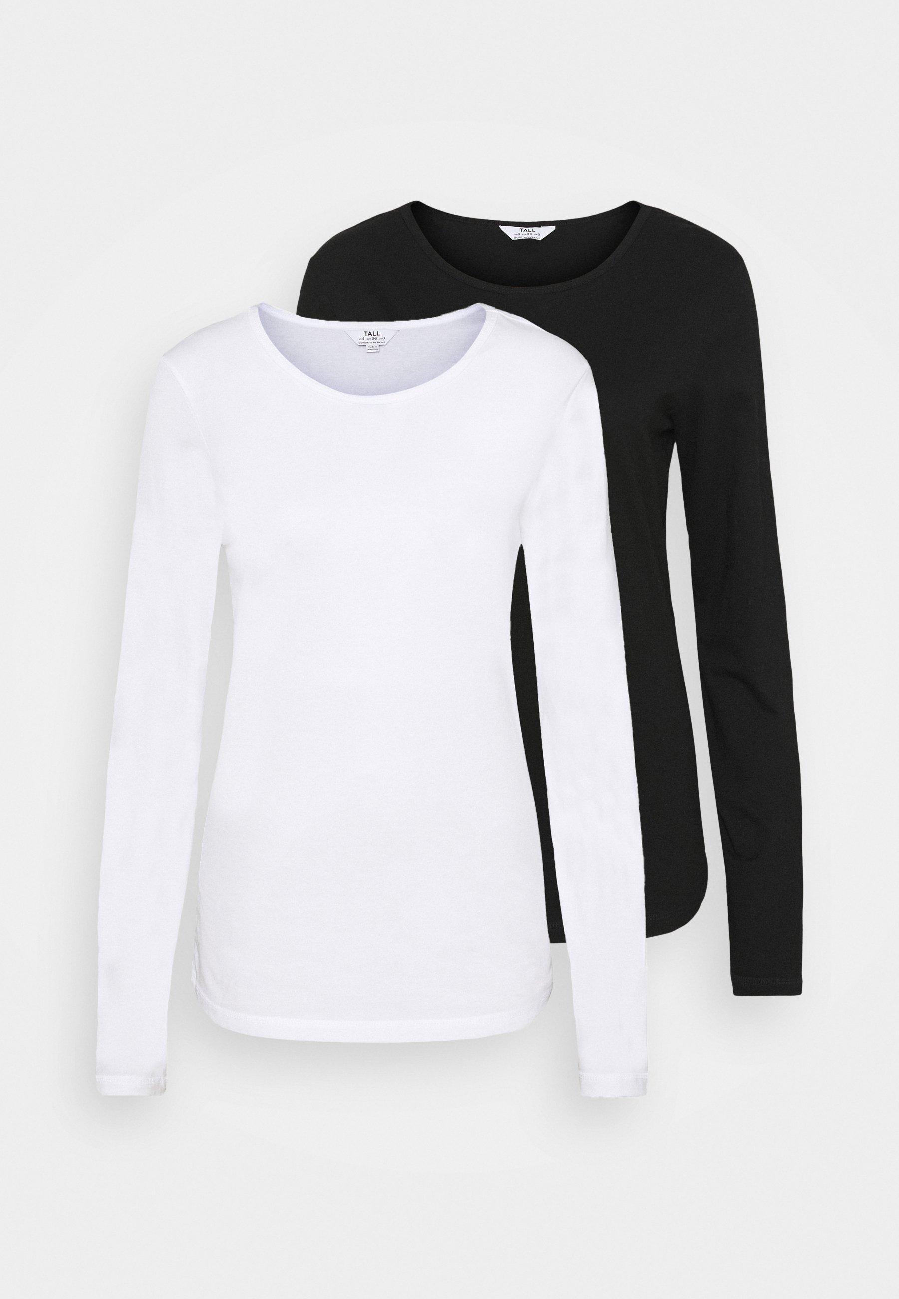 Women LONG SLEEVE CREW NECK 2 PACK - Long sleeved top