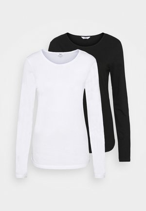 LONG SLEEVE CREW NECK 2 PACK - Long sleeved top - multi