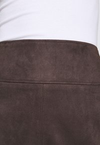 comma - Mini skirt - dark brown - 4