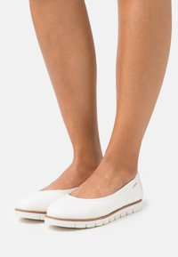 TOM TAILOR - Ballet pumps - white - 0