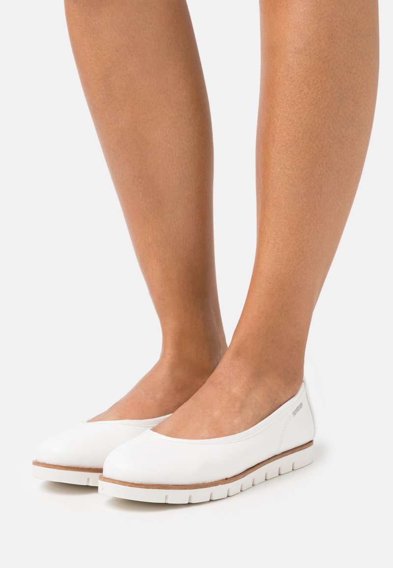 TOM TAILOR - Ballet pumps - white