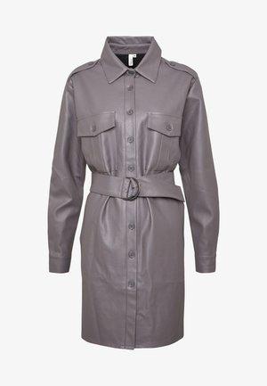 OVERSIZE DRESS - Košilové šaty - grey