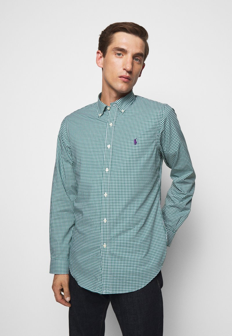Polo Ralph Lauren - NATURAL - Shirt - evergreen