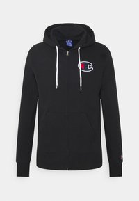 Champion Rochester - HOODED FULL ZIP - veste en sweat zippée - black - 0