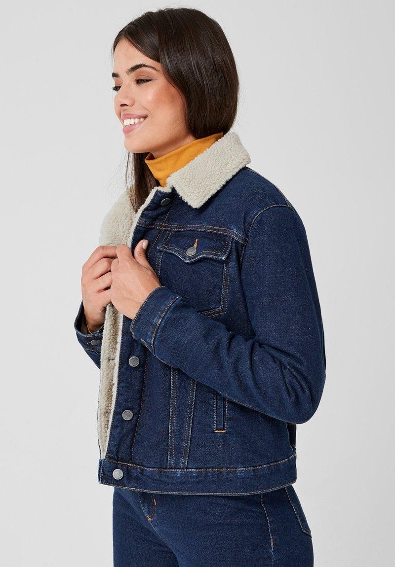 Triangle - Denim jacket - navy