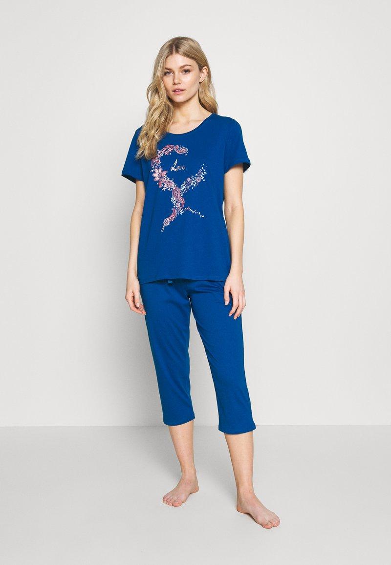 Triumph - CAPRI SET - Pyjamas - lagoon blue