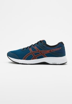 GEL CONTEND 6 - Zapatillas de running neutras - mako blue/sunrise red