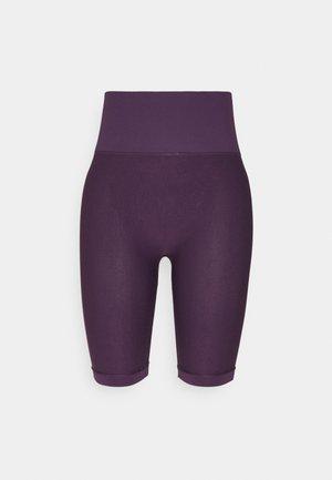 SEAMLESS CYCLING SHORT - Leggings - purple