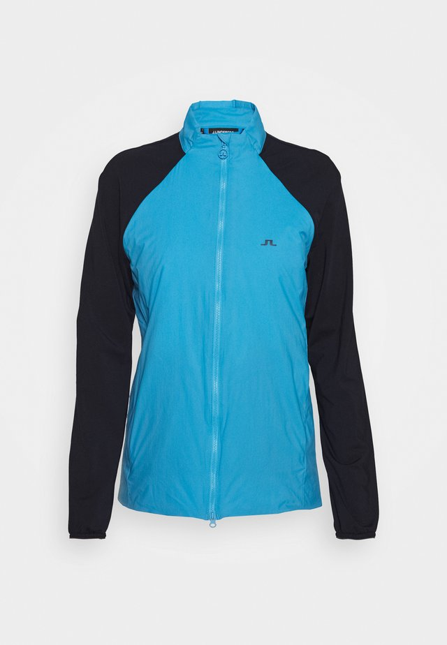 LIV HYBRID - Trainingsjacke - ocean blue