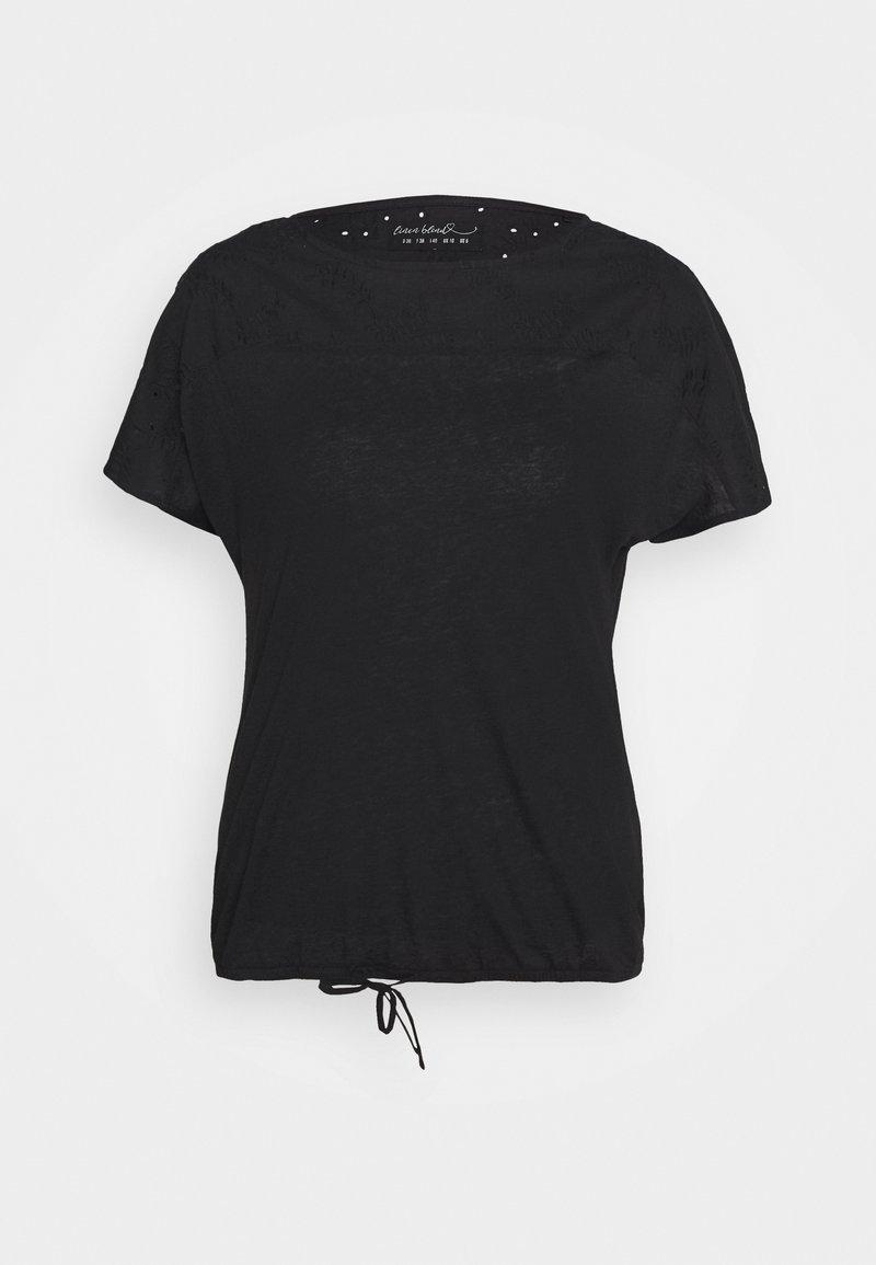 s.Oliver - T-shirt print - black