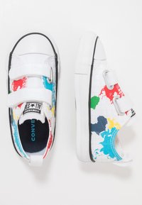 Converse - CHUCK TAYLOR ALL STAR WORLDWIDE - Zapatillas - white/university red/black - 0
