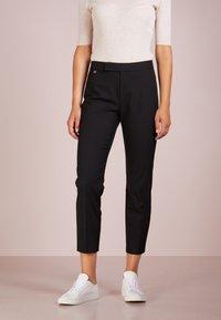 Lauren Ralph Lauren - SUITING  PANT - Trousers - black - 0