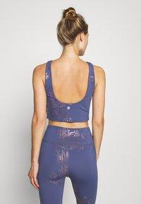 Sweaty Betty - WORKOUT VEST - Top - crown blue/bronze - 2