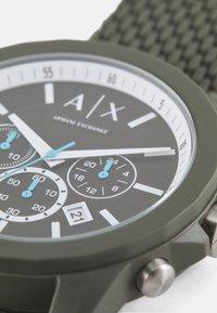 Armani Exchange - OUTERBANKS - Chronograph watch - green - 3