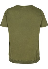 Zizzi - Print T-shirt - ivy green - 5