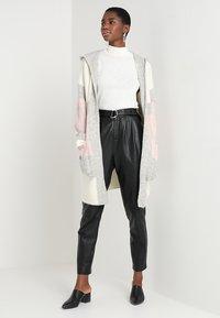 Mavi - HODDED CARDIGAN - Cardigan - antique white - 1