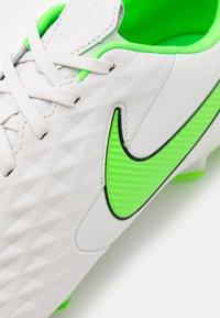 Nike Performance - TIEMPO LEGEND 8 PRO FG - Kopačky lisovky - platinum tint/rage green - 5