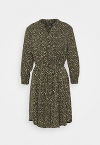 Selected Femme Petite - SLFMETHA DAMINA DRESS PETITE - Kjole - winter moss - 0