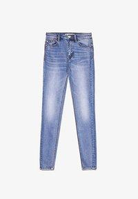 Stradivarius - Jeans Skinny Fit - light blue - 4