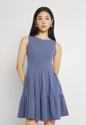 NICOLA SKATER DRESS - Žerzejové šaty - indigo blue