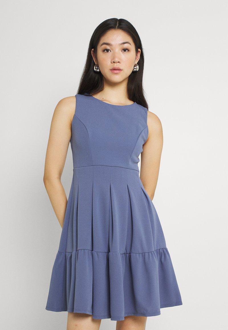 WAL G. - NICOLA SKATER DRESS - Jersey dress - indigo blue