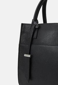 Zign - LEATHER - Handbag - black - 3