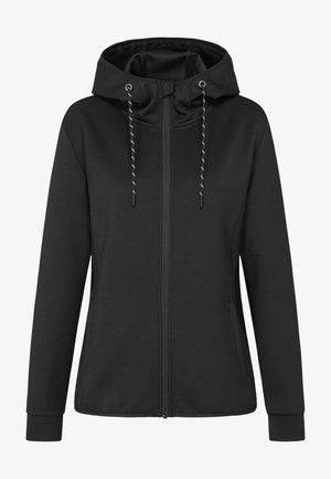Zip-up sweatshirt - black opal