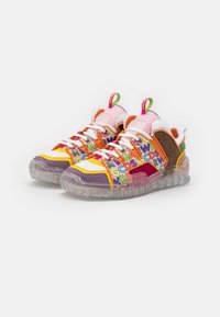 GCDS - PATCHWORK SKATE  - Trainers - multicolor