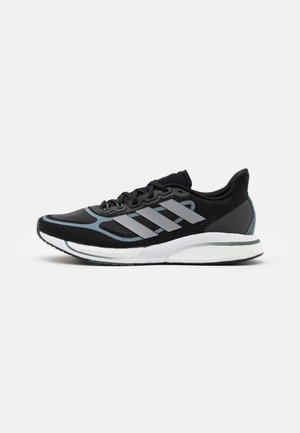 SUPERNOVA +  - Neutral running shoes - core black/silver metallic/blue
