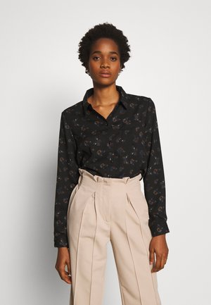 JDYMIE - Button-down blouse - black