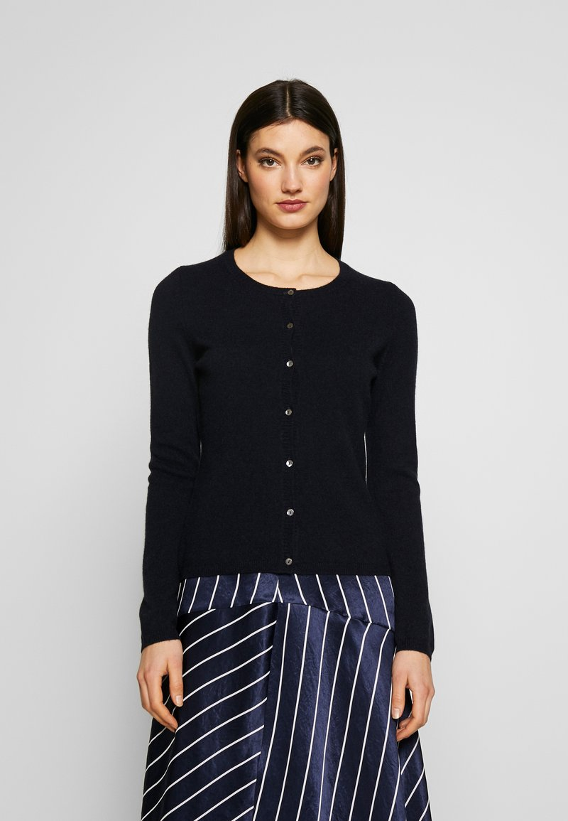 FTC Cashmere - CARDIGAN - Kardigan - midnight