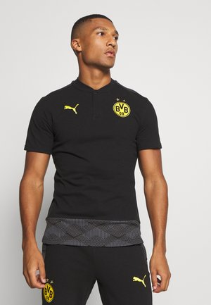 BVB BORUSSIA DORTMUND CASUALS - Article de supporter - black/cyber yellow