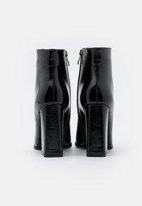 RAID - NEETA - Kotníková obuv na vysokém podpatku - black - 3