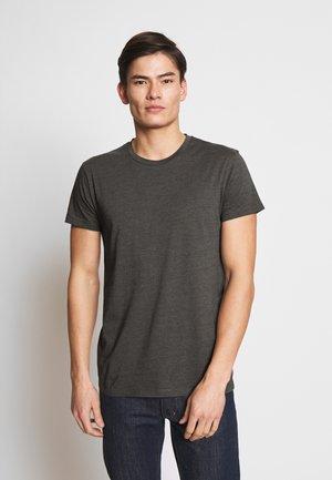 KRONOS STRIPE - Print T-shirt - deep lichen