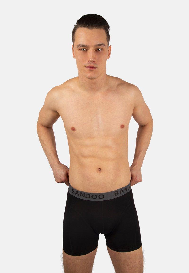 Bandoo Underwear - 2PACK - Pants - black,black