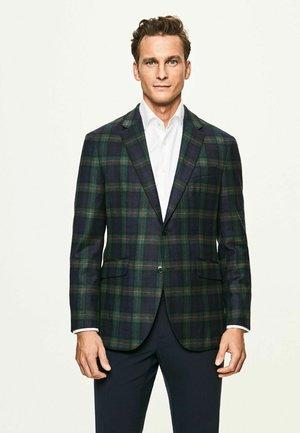 Suit jacket - green/navy