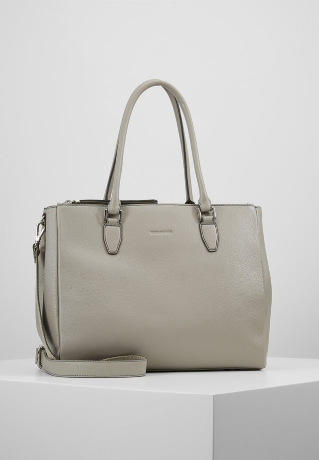 VERONA - Handbag - light grey