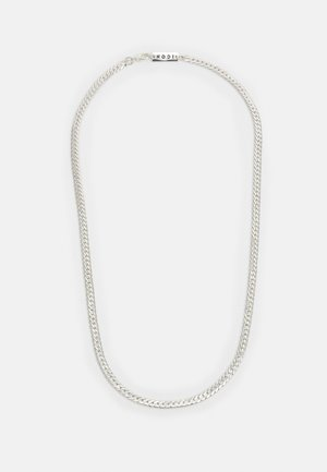 DESERT COMRADE FLAT SNAKE CHAIN NECKLACE - Halsband - silver-coloured
