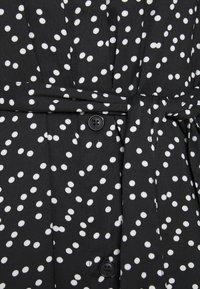 Banana Republic - SHIRTDRESS - Maxi dress - black - 2