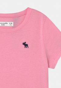 Abercrombie & Fitch - CORE CREW - Jednoduché triko - pink - 2