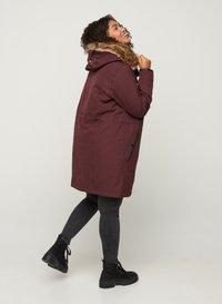 Zizzi - Down coat - dark bordeaux - 2