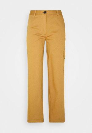 AUDREY PANTS - Trousers - golden brown