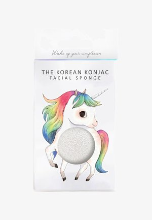 MYTHICAL UNICORN PRANCING SPONGE AND HOOK - Skincare tool - white