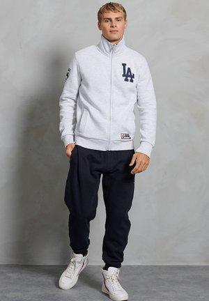 Zip-up sweatshirt - ice marl