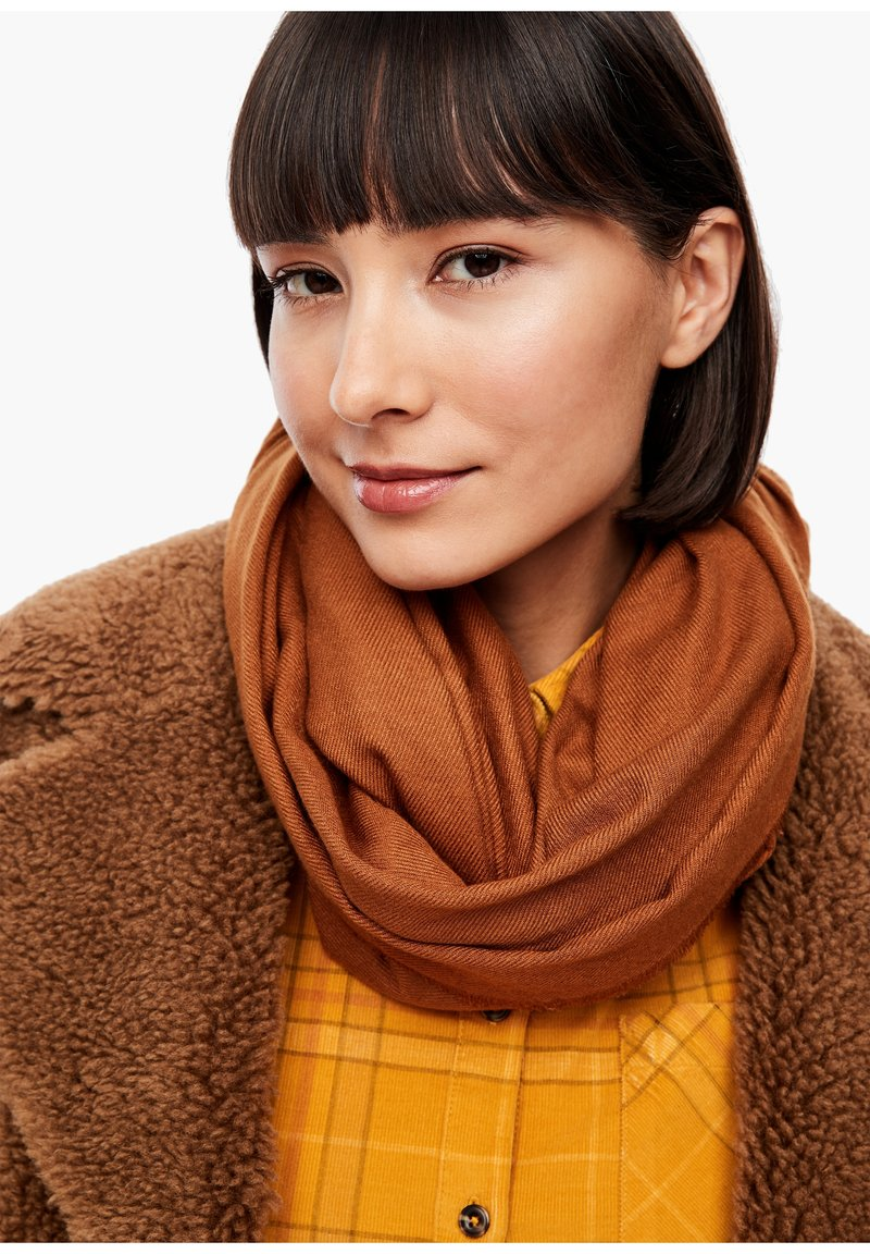 s.Oliver - Scarf - brown
